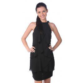 Dámské šaty se vzorem Desigual, černé Šaty