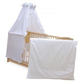Set do postýlky Grapi, 140x70 cm, bílý Dětské postýlky, matrace a lůžkoviny