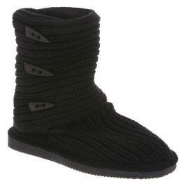 Dámské válenky Bearpaw Knit Tall, černé