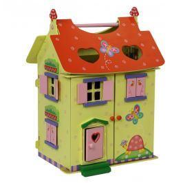 BAYER-HRACKY Domeček pro panenky dřevo MAGIC 11132A Pro holky