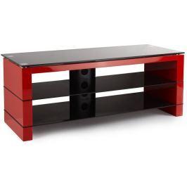 Stolek pod televizor Stell SHO 1141, červený TV stolky a držáky