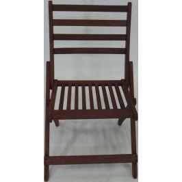 Zahradní židle V-Garden VeGa, hnědá