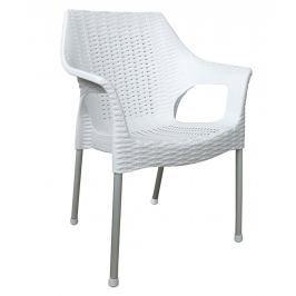 MEGA-PLAST BELLA MP1270 bílá Zahradní nábytek