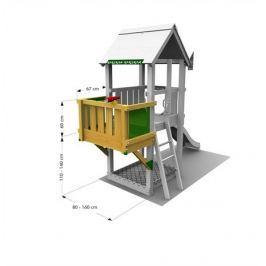Přídavný balkonek na hřiště Jungle Gym Balcony Module Na zahradu