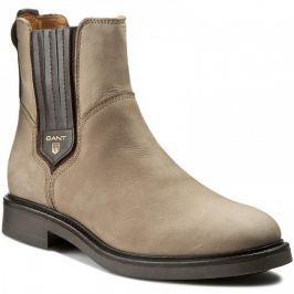GANT W Kotníčková obuv Ashley_aw16 37 šedá Kotníčková obuv a polobotky