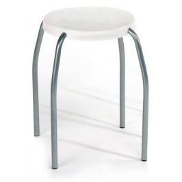 Pevná a kvalitní stolička Kela Lyon, bílá Židle