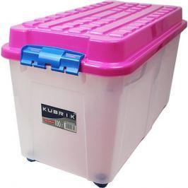 HEIDRUN Box Kubrik 100 l, růžová Úložné boxy