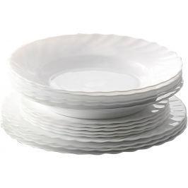 TORO Sada jídelních talířů Titan opálové sklo