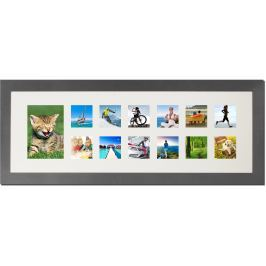 TIMELIFE Fotorámeček LUXURY, kov 88x34 cm Doplňky a dekorace