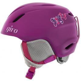Přilba Giro Launch Berry Butterflies XS Sjezdové lyžování