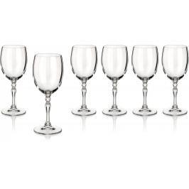 BANQUET sklenice na bílé víno Lucille 200 ml, 6 Jídelní soupravy a nože