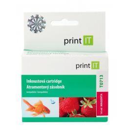 Purpurová inkoustová náplň Print IT T0713, pro tiskárny Epson