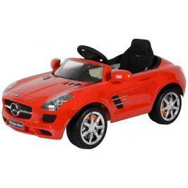 Elektrické auto Mercedes-Benz červené
