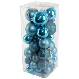SEIZIS Set vánočních koulí modré
