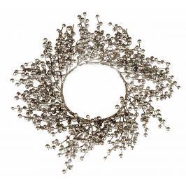 EVERGREEN Věnec bobulky stříbrný Doplňky a dekorace