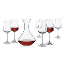 Set na víno Crystalex Sandra