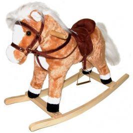 TEDDIES Plyšový houpací kůň 60cm Lehátka a chodítka