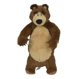 SIMBA Máša a medvěd - Plyšový medvěd stojící