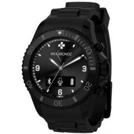 MY-KRONOZ chytré hodinky ZeClock, černé Tréninkové počítače