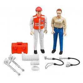 BRUDER Set figurek ambulance s doplňky Figurky