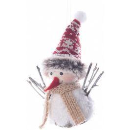KAEMINGK Vánoční ozdoba sněhulák 15 cm