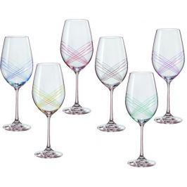 CRYSTALEX sklenice na víno Ellipse 350 ml, 6 ks Jídelní soupravy a nože