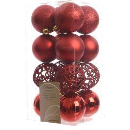 Vánoční ozdoby Kaemingk, červené
