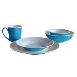 TORO Jídelní set 20 ks, modrá