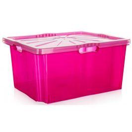 Úložný box Keeper XXL, 52 x 43 cm, růžový