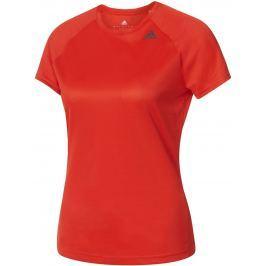 Dámské triko Adidas D2M Tee Lose, červené Trička