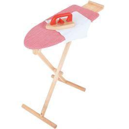 BIGJIGS-TOYS Dřevěné žehlící prkno se žehličkou Pro holky