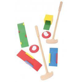 BIGJIGS-TOYS dřevěné hry - Sada Crazy golf