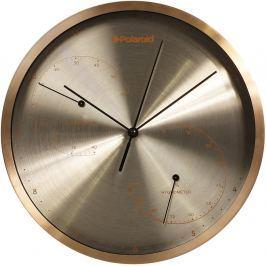 TIMELIFE Nástěnné hodiny TL-178B teploměr/vlhkomě