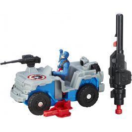 AVENGERS Figurka s vozidlem Capitan America