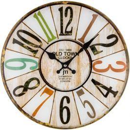 Designové nástěnné hodiny Lowell 14878