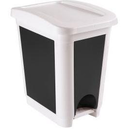 HEIDRUN Odpadkový koš 30 l, bílá