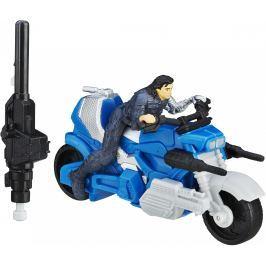 AVENGERS Figurka s vozidlem Winter Soldier