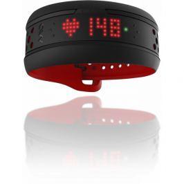 Senzor srdečního tepu Mio Fuse, dlouhý pásek, červeno-černý