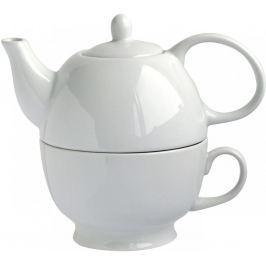 Konvice na čaj Toro, 480 ml, bílá