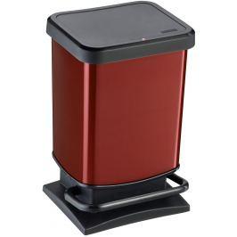Rotho Odpadkový koš Paso 20 l, červený
