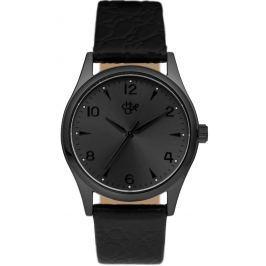 Pánské hodinky Cheapo Roger, černé