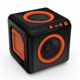 POWERCUBE audioCube, černá/oranžová