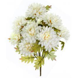 SEIZIS Chryzantéma puget 12 květů, krémová, 2ks