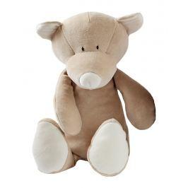 Medvídek Teddy Wooly organic, hnědý