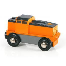 BRIO Elektrická nákladní lokomotiva - II. jak