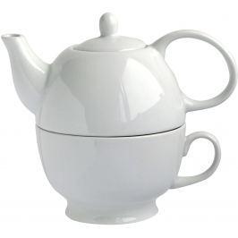 TORO Konvice na čaj 480 ml se šálkem porcelán