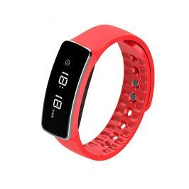 CUBE1 Smart band H18, červený