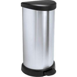 CURVER Odpadkový koš Curver Decobin 4, stříbrná