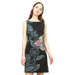 Dámské šaty Desigual se vzorem, černé, 40