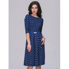 Dámské šaty 1101-5611, modré 40